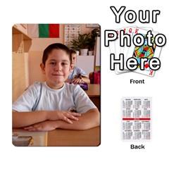 Kalendari 2 By Penka Mihaylova   Playing Cards 54 Designs (rectangle)   Vyarphjtrtoe   Www Artscow Com Front - Club10