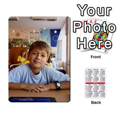 Kalendari 2 By Penka Mihaylova   Playing Cards 54 Designs   Vyarphjtrtoe   Www Artscow Com Front - Spade7