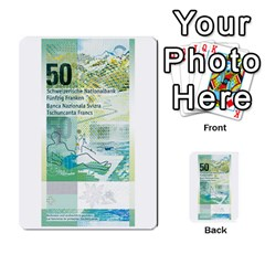 Design Competition For Swiss Francs By Geni Palladin   Multi Purpose Cards (rectangle)   013u2cj6o2d7   Www Artscow Com Front 51