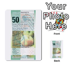 Design Competition For Swiss Francs By Geni Palladin   Multi Purpose Cards (rectangle)   013u2cj6o2d7   Www Artscow Com Back 51