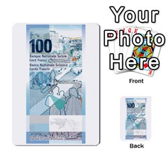Design Competition For Swiss Francs By Geni Palladin   Multi Purpose Cards (rectangle)   013u2cj6o2d7   Www Artscow Com Front 52