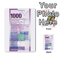 Design Competition For Swiss Francs By Geni Palladin   Multi Purpose Cards (rectangle)   013u2cj6o2d7   Www Artscow Com Back 54