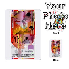 Design Competition For Swiss Francs By Geni Palladin   Multi Purpose Cards (rectangle)   013u2cj6o2d7   Www Artscow Com Back 14