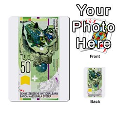 Design Competition For Swiss Francs By Geni Palladin   Multi Purpose Cards (rectangle)   013u2cj6o2d7   Www Artscow Com Front 15
