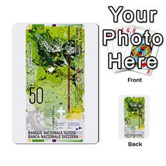 Design Competition For Swiss Francs By Geni Palladin   Multi Purpose Cards (rectangle)   013u2cj6o2d7   Www Artscow Com Back 15