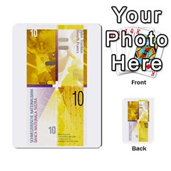 Design Competition For Swiss Francs By Geni Palladin   Multi Purpose Cards (rectangle)   013u2cj6o2d7   Www Artscow Com Front 19