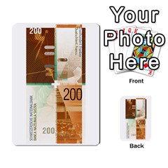 Design Competition For Swiss Francs By Geni Palladin   Multi Purpose Cards (rectangle)   013u2cj6o2d7   Www Artscow Com Front 23