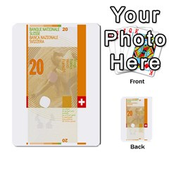 Design Competition For Swiss Francs By Geni Palladin   Multi Purpose Cards (rectangle)   013u2cj6o2d7   Www Artscow Com Front 44