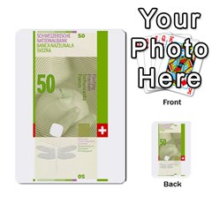 Design Competition For Swiss Francs By Geni Palladin   Multi Purpose Cards (rectangle)   013u2cj6o2d7   Www Artscow Com Front 45
