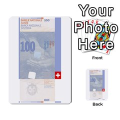 Design Competition For Swiss Francs By Geni Palladin   Multi Purpose Cards (rectangle)   013u2cj6o2d7   Www Artscow Com Front 46