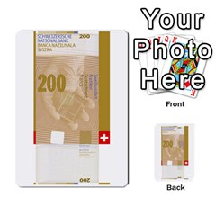 Design Competition For Swiss Francs By Geni Palladin   Multi Purpose Cards (rectangle)   013u2cj6o2d7   Www Artscow Com Front 47