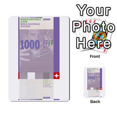 Design Competition For Swiss Francs By Geni Palladin   Multi Purpose Cards (rectangle)   013u2cj6o2d7   Www Artscow Com Front 48