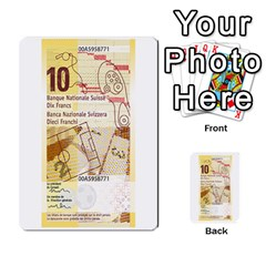 Design Competition For Swiss Francs By Geni Palladin   Multi Purpose Cards (rectangle)   013u2cj6o2d7   Www Artscow Com Back 49
