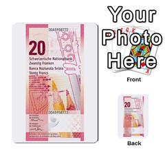 Design Competition For Swiss Francs By Geni Palladin   Multi Purpose Cards (rectangle)   013u2cj6o2d7   Www Artscow Com Back 50