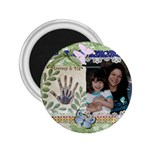 Melody and Mommy magnet - 2.25  Magnet