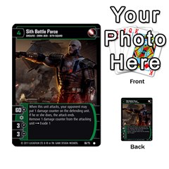 Star Wars Tcg X By Jaume Salva I Lara   Multi Purpose Cards (rectangle)   Vegj9py9njp2   Www Artscow Com Front 51