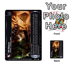 Star Wars Tcg X By Jaume Salva I Lara   Multi Purpose Cards (rectangle)   Vegj9py9njp2   Www Artscow Com Front 52