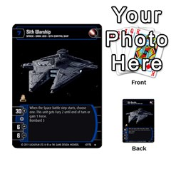Star Wars Tcg X By Jaume Salva I Lara   Multi Purpose Cards (rectangle)   Vegj9py9njp2   Www Artscow Com Front 13