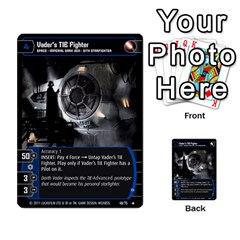 Star Wars Tcg X By Jaume Salva I Lara   Multi Purpose Cards (rectangle)   Vegj9py9njp2   Www Artscow Com Front 18