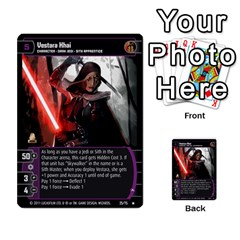 Star Wars Tcg X By Jaume Salva I Lara   Multi Purpose Cards (rectangle)   Vegj9py9njp2   Www Artscow Com Front 20