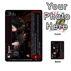 Star Wars Tcg X By Jaume Salva I Lara   Multi Purpose Cards (rectangle)   Vegj9py9njp2   Www Artscow Com Front 25