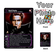 Star Wars Tcg X By Jaume Salva I Lara   Multi Purpose Cards (rectangle)   Vegj9py9njp2   Www Artscow Com Front 26