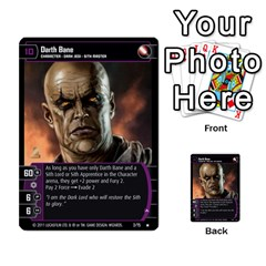 Star Wars Tcg X By Jaume Salva I Lara   Multi Purpose Cards (rectangle)   Vegj9py9njp2   Www Artscow Com Front 29