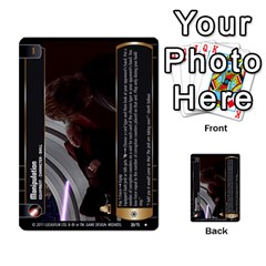 Star Wars Tcg X By Jaume Salva I Lara   Multi Purpose Cards (rectangle)   Vegj9py9njp2   Www Artscow Com Front 4