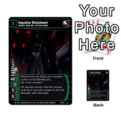 Star Wars Tcg X By Jaume Salva I Lara   Multi Purpose Cards (rectangle)   Vegj9py9njp2   Www Artscow Com Front 5
