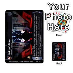 Star Wars Tcg X By Jaume Salva I Lara   Multi Purpose Cards (rectangle)   Vegj9py9njp2   Www Artscow Com Front 43