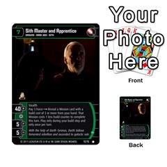 Star Wars Tcg X By Jaume Salva I Lara   Multi Purpose Cards (rectangle)   Vegj9py9njp2   Www Artscow Com Front 44