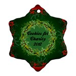 Cookies for Charity - Ornament (Snowflake)