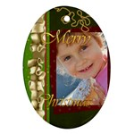 xmas - Ornament (Oval)