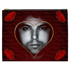 Romantic I Love You By Radu   Cosmetic Bag (xxxl)   27gy2xl6b3ac   Www Artscow Com Front