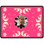 Extra Large Pink Tree Blanket - Fleece Blanket (Extra Large)