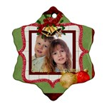 xmas - Snowflake Ornament (Two Sides)