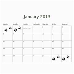 Cuby 2013 By Amanda   Wall Calendar 11  X 8 5  (12 Months)   F3jgswaoq4r9   Www Artscow Com Jan 2013