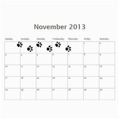 Cuby 2013 By Amanda   Wall Calendar 11  X 8 5  (12 Months)   Rhlf2514svqf   Www Artscow Com Nov 2013