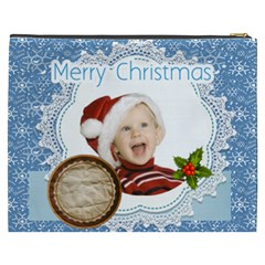 Christmas By Man   Cosmetic Bag (xxxl)   Plc30gdab9xy   Www Artscow Com Back