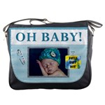 Oh Baby Boy Messenger Bag
