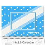Happy Family Calendar 2013 - Wall Calendar 11  x 8.5  (12-Months)