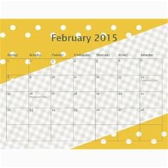 Happy Family Calendar 2013 By Daniela   Wall Calendar 11  X 8 5  (12 Months)   4sy14e9cwmq9   Www Artscow Com Feb 2015