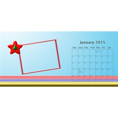 My Family Desktop Calendar 11x5 2013 By Daniela   Desktop Calendar 11  X 5    10asjap8tp83   Www Artscow Com Jan 2015