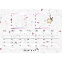 Our Family Desktop Calendar White 2013 By Daniela   Desktop Calendar 8 5  X 6    Gddpqglr9bdq   Www Artscow Com Jan 2015