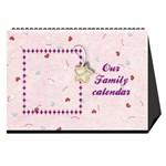 Our Family desktop calendar 2013 - Desktop Calendar 8.5  x 6