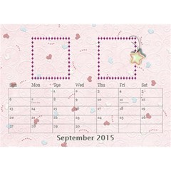 Our Family Desktop Calendar 2013 By Daniela   Desktop Calendar 8 5  X 6    0jujp5riwzxy   Www Artscow Com Sep 2015