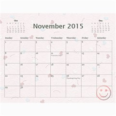 Family Calendar 2013   Happy New Year By Daniela   Wall Calendar 11  X 8 5  (12 Months)   Vnn7t7kxcc12   Www Artscow Com Nov 2015