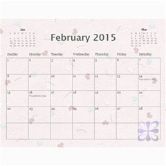 Family Calendar 2013   Happy New Year By Daniela   Wall Calendar 11  X 8 5  (12 Months)   Vnn7t7kxcc12   Www Artscow Com Feb 2015