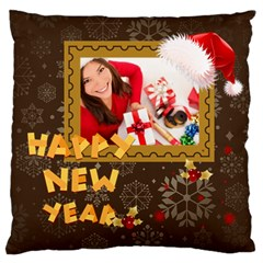 Christmas By Angena Jolin   Large Cushion Case (two Sides)   7s7fib2q6qk4   Www Artscow Com Front