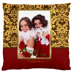 Christmas By Angena Jolin   Large Cushion Case (two Sides)   W7mqi7gopedh   Www Artscow Com Back